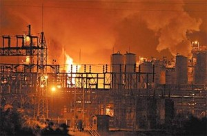 August 2008 explosion at the Bayer CropScience plant in WV
