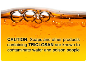 Bubbles in orange liquid soap