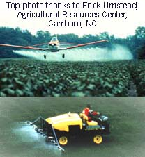 Use of Chemicles in Agriculture (Photo: USDA)
